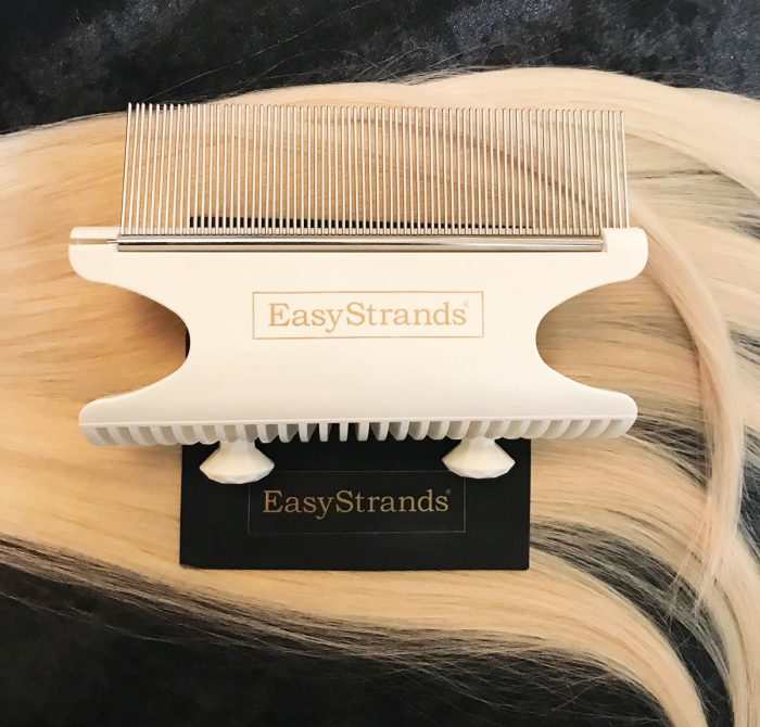 Hair Extensions Holder - White